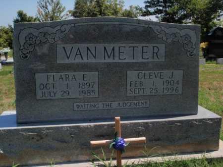 VAN METER, FLARA E. - Boone County, Arkansas | FLARA E. VAN METER - Arkansas Gravestone Photos