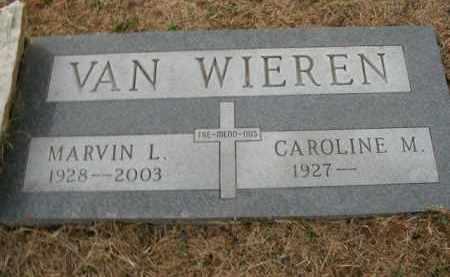 VAN WIEREN, MARVIN LOYD - Boone County, Arkansas   MARVIN LOYD VAN WIEREN - Arkansas Gravestone Photos