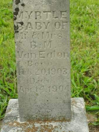 VANEATON, MYRTLE - Boone County, Arkansas | MYRTLE VANEATON - Arkansas Gravestone Photos