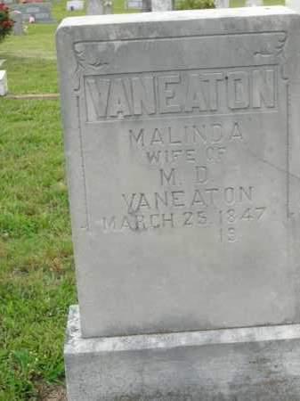 VANEATON, MALINDA - Boone County, Arkansas   MALINDA VANEATON - Arkansas Gravestone Photos
