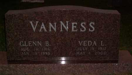 VANNESS, GLENN B. - Boone County, Arkansas | GLENN B. VANNESS - Arkansas Gravestone Photos