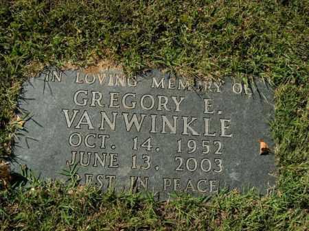 VANWINKLE, GREGORY E. - Boone County, Arkansas | GREGORY E. VANWINKLE - Arkansas Gravestone Photos