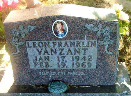 VANZANT, LEON FRANKLIN - Boone County, Arkansas | LEON FRANKLIN VANZANT - Arkansas Gravestone Photos