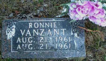 VANZANT, RONNIE - Boone County, Arkansas | RONNIE VANZANT - Arkansas Gravestone Photos