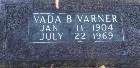 VARNER, VADA B. - Boone County, Arkansas   VADA B. VARNER - Arkansas Gravestone Photos