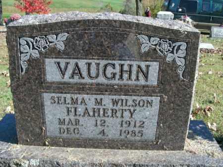 WILSON VAUGHN, SELMA M. - Boone County, Arkansas | SELMA M. WILSON VAUGHN - Arkansas Gravestone Photos