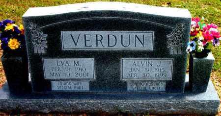 VERDUN, ALVIN J. - Boone County, Arkansas | ALVIN J. VERDUN - Arkansas Gravestone Photos