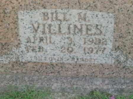 VILLINES, BILL M. - Boone County, Arkansas   BILL M. VILLINES - Arkansas Gravestone Photos