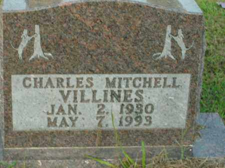 VILLINES, CHARLES MITCHELL - Boone County, Arkansas | CHARLES MITCHELL VILLINES - Arkansas Gravestone Photos