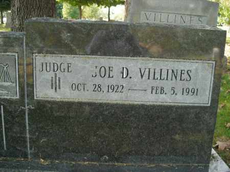 VILLINES  (VETERAN WWII), JOE DARRELL - Boone County, Arkansas   JOE DARRELL VILLINES  (VETERAN WWII) - Arkansas Gravestone Photos