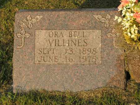 VILLINES, ORA BELL - Boone County, Arkansas | ORA BELL VILLINES - Arkansas Gravestone Photos