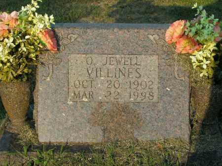 VILLINES, O. JEWELL - Boone County, Arkansas | O. JEWELL VILLINES - Arkansas Gravestone Photos