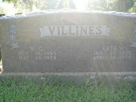 VILLINES, ERTA V. - Boone County, Arkansas   ERTA V. VILLINES - Arkansas Gravestone Photos