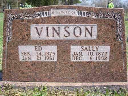 VINSON, SALLY - Boone County, Arkansas | SALLY VINSON - Arkansas Gravestone Photos
