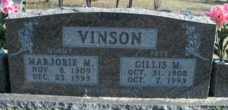 VINSON, MARJORIE M. - Boone County, Arkansas   MARJORIE M. VINSON - Arkansas Gravestone Photos