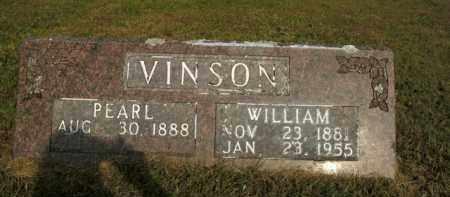 VINSON, WILLIAM - Boone County, Arkansas | WILLIAM VINSON - Arkansas Gravestone Photos