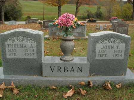 VRBAN, THELMA A. - Boone County, Arkansas | THELMA A. VRBAN - Arkansas Gravestone Photos