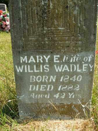 WADLEY, MARY E. - Boone County, Arkansas   MARY E. WADLEY - Arkansas Gravestone Photos