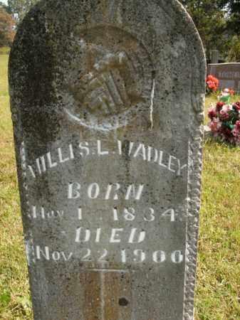 WADLEY, WILLIS L. - Boone County, Arkansas | WILLIS L. WADLEY - Arkansas Gravestone Photos