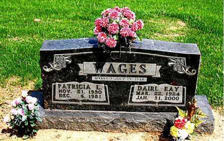 WAGES, PATRICIA    L - Boone County, Arkansas | PATRICIA    L WAGES - Arkansas Gravestone Photos