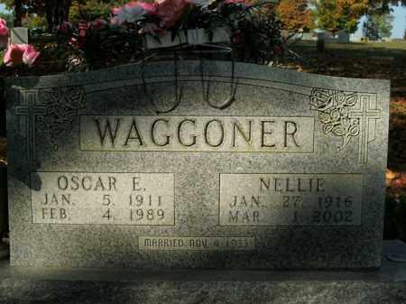 WAGGONER, OSCAR E. - Boone County, Arkansas | OSCAR E. WAGGONER - Arkansas Gravestone Photos