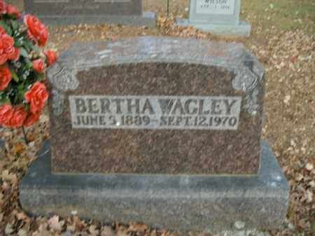 WAGLEY, BERTHA - Boone County, Arkansas | BERTHA WAGLEY - Arkansas Gravestone Photos