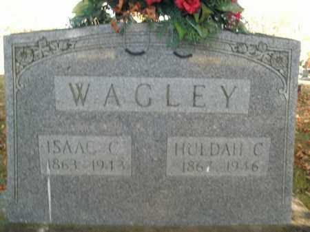 WAGLEY, ISAAC CHRISMAN - Boone County, Arkansas | ISAAC CHRISMAN WAGLEY - Arkansas Gravestone Photos