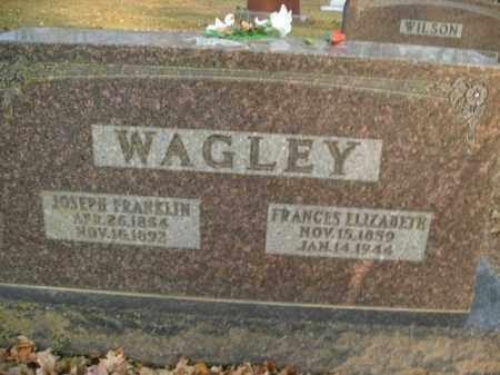 WAGLEY, JOSEPH FRANKLIN - Boone County, Arkansas | JOSEPH FRANKLIN WAGLEY - Arkansas Gravestone Photos