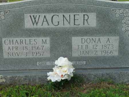 WAGNER, CHARLES M. - Boone County, Arkansas   CHARLES M. WAGNER - Arkansas Gravestone Photos