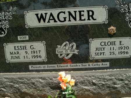 WAGNER, ESSIE G. - Boone County, Arkansas | ESSIE G. WAGNER - Arkansas Gravestone Photos