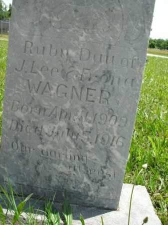 WAGNER, RUBY - Boone County, Arkansas | RUBY WAGNER - Arkansas Gravestone Photos