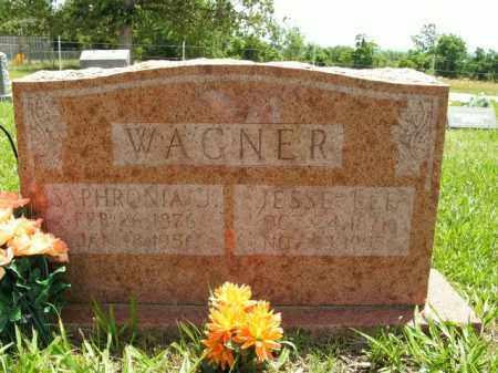 WAGNER, JESSE LEE - Boone County, Arkansas | JESSE LEE WAGNER - Arkansas Gravestone Photos