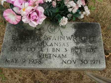 WAINWRIGHT  (VETERAN VIET), BASKUM - Boone County, Arkansas | BASKUM WAINWRIGHT  (VETERAN VIET) - Arkansas Gravestone Photos