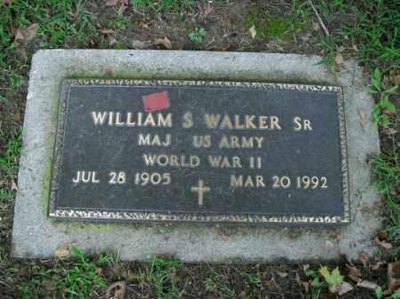 WALKER, SR.(VETERAN WWII), WILLIAM S - Boone County, Arkansas | WILLIAM S WALKER, SR.(VETERAN WWII) - Arkansas Gravestone Photos