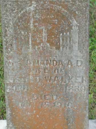 WALKER, AMANDA A.D. - Boone County, Arkansas | AMANDA A.D. WALKER - Arkansas Gravestone Photos