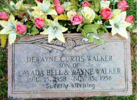 WALKER, DEWAYNE CURTIS - Boone County, Arkansas | DEWAYNE CURTIS WALKER - Arkansas Gravestone Photos
