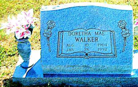 WALKER, DORETHA  MAE - Boone County, Arkansas   DORETHA  MAE WALKER - Arkansas Gravestone Photos