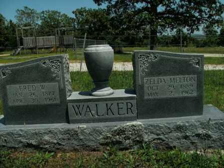 MELTON WALKER, ZELDA - Boone County, Arkansas | ZELDA MELTON WALKER - Arkansas Gravestone Photos