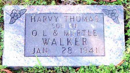 WALKER, HARVY THOMAS - Boone County, Arkansas   HARVY THOMAS WALKER - Arkansas Gravestone Photos