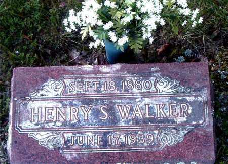 WALKER, HENRY S. - Boone County, Arkansas | HENRY S. WALKER - Arkansas Gravestone Photos