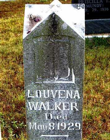 WALKER, LOUVENA - Boone County, Arkansas | LOUVENA WALKER - Arkansas Gravestone Photos