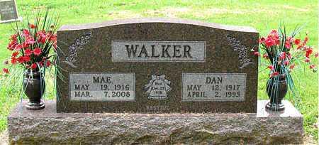 WALKER, MAE - Boone County, Arkansas | MAE WALKER - Arkansas Gravestone Photos