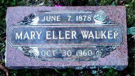 WALKER, MARY ELLER - Boone County, Arkansas   MARY ELLER WALKER - Arkansas Gravestone Photos