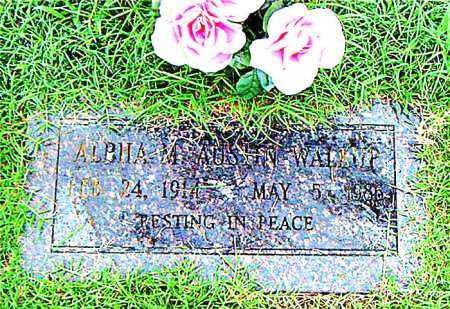 FRANCE WALKUP, ALPHA  M. - Boone County, Arkansas | ALPHA  M. FRANCE WALKUP - Arkansas Gravestone Photos