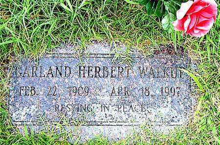 WALKUP, GARLAND HERBERT - Boone County, Arkansas | GARLAND HERBERT WALKUP - Arkansas Gravestone Photos