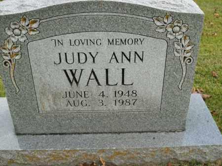 WALL, JUDY ANN - Boone County, Arkansas   JUDY ANN WALL - Arkansas Gravestone Photos