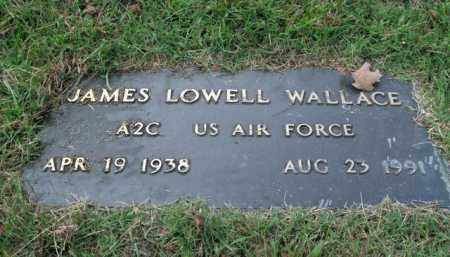 WALLACE  (VETERAN), JAMES LOWELL - Boone County, Arkansas | JAMES LOWELL WALLACE  (VETERAN) - Arkansas Gravestone Photos