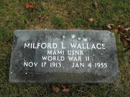 WALLACE  (VETERAN WWII), MILFORD L. - Boone County, Arkansas | MILFORD L. WALLACE  (VETERAN WWII) - Arkansas Gravestone Photos