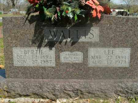 WALLIS, LEE - Boone County, Arkansas | LEE WALLIS - Arkansas Gravestone Photos