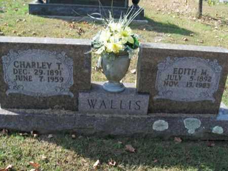 WALLIS, EDITH M. - Boone County, Arkansas | EDITH M. WALLIS - Arkansas Gravestone Photos